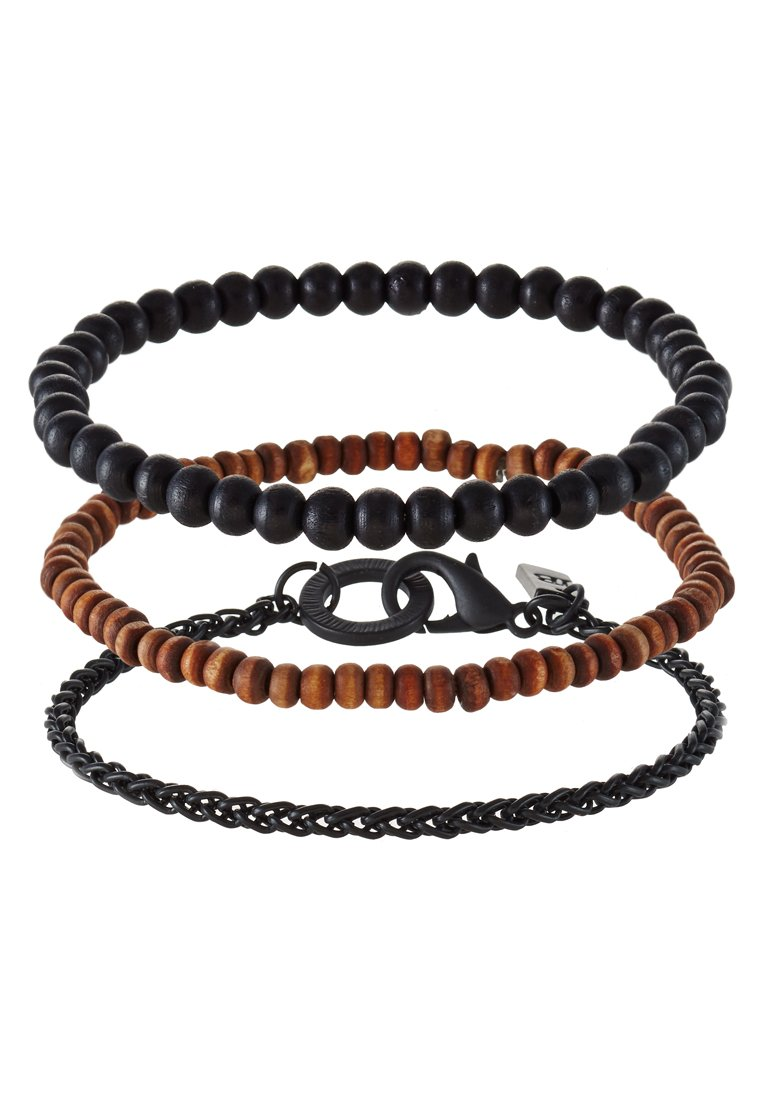 Pulsera Icon Brand 3 PACK Pulsera black/brown