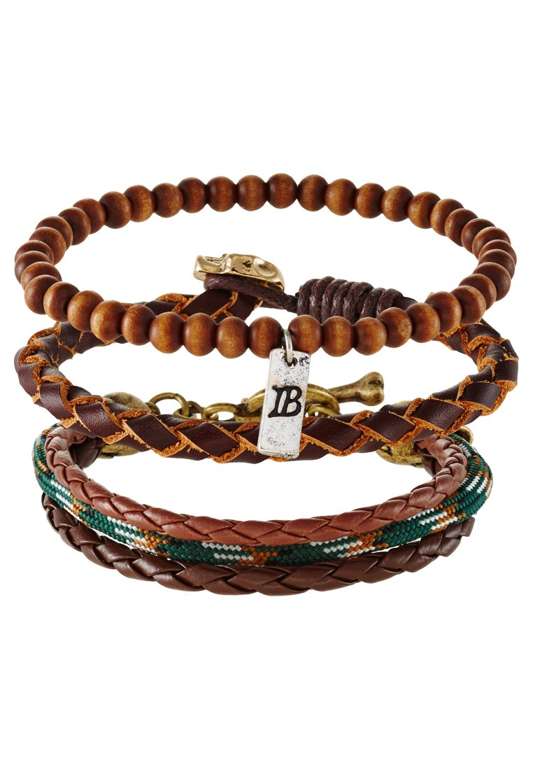 Pulsera Icon Brand 3 PACK Pulsera brown