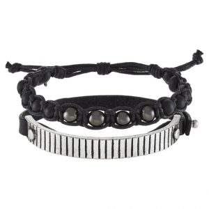 Pulsera Icon Brand 2 PACK Pulsera black