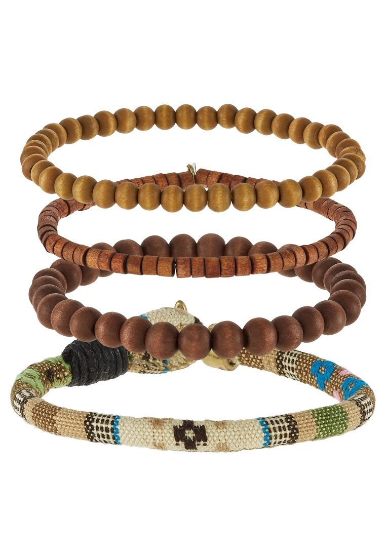 Pulsera Icon Brand ASTOR 4 PACK Pulsera brown
