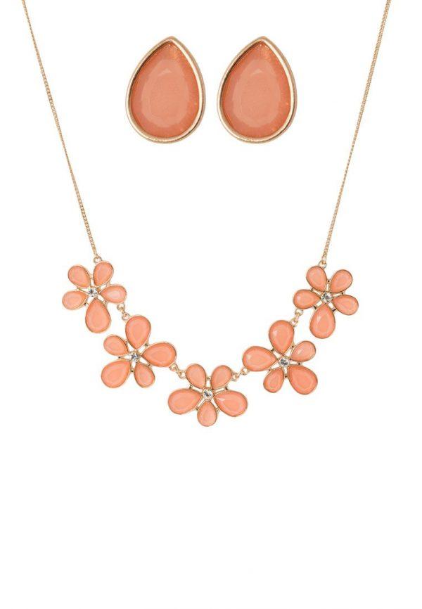 Collares Dorothy Perkins SET Collar peach