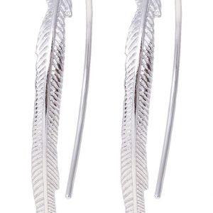 Pendientes Fossil silvercoloured