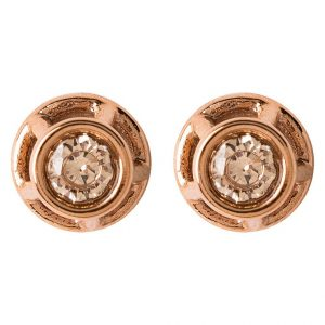 Pendientes Fossil ICONIC rose goldcoloured