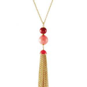 Collares kate spade new york Collar pink/multicoloured