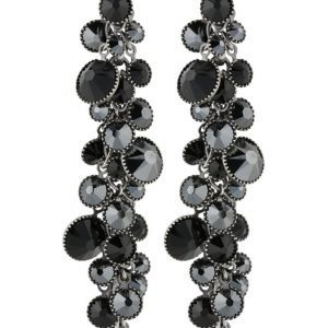 Pendientes Konplott DANGLING WATERFALLS black