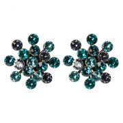 Pendientes Konplott MAGIC FIREBALL blue/green antique/silvercoloured