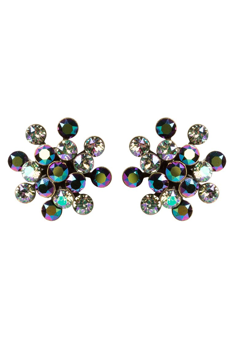 Pendientes Konplott MAGIC FIREBALL green/lila