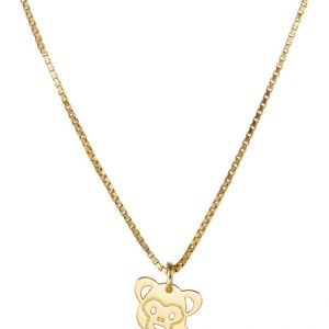 Collares Malaika Raiss MONKEY Collar goldcoloured