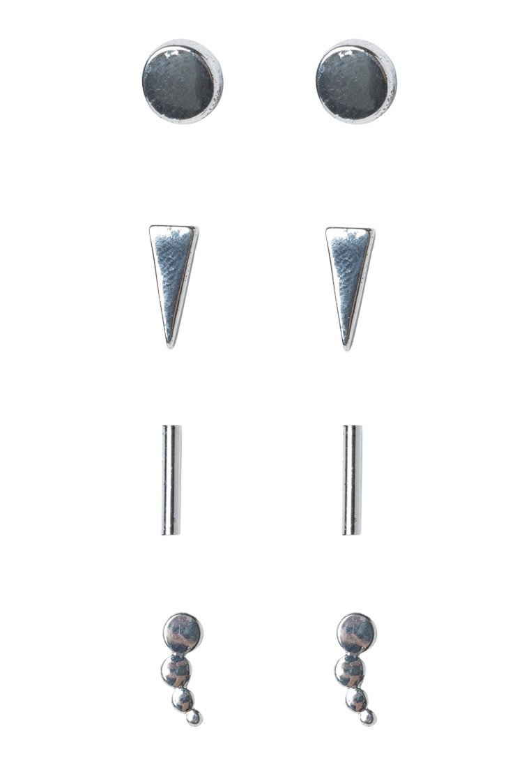 Pendientes ONLY 4 PACK ONLTAYA silvercoloured