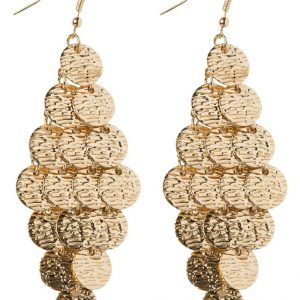 Pendientes ONLY ONLROMI  goldcoloured