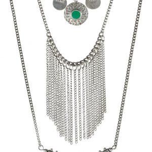 Collares Pieces PCBELUNA Collar silvercoloured