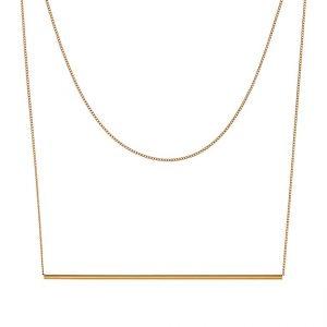 Collares Pieces PCPERULA  Collar goldcoloured