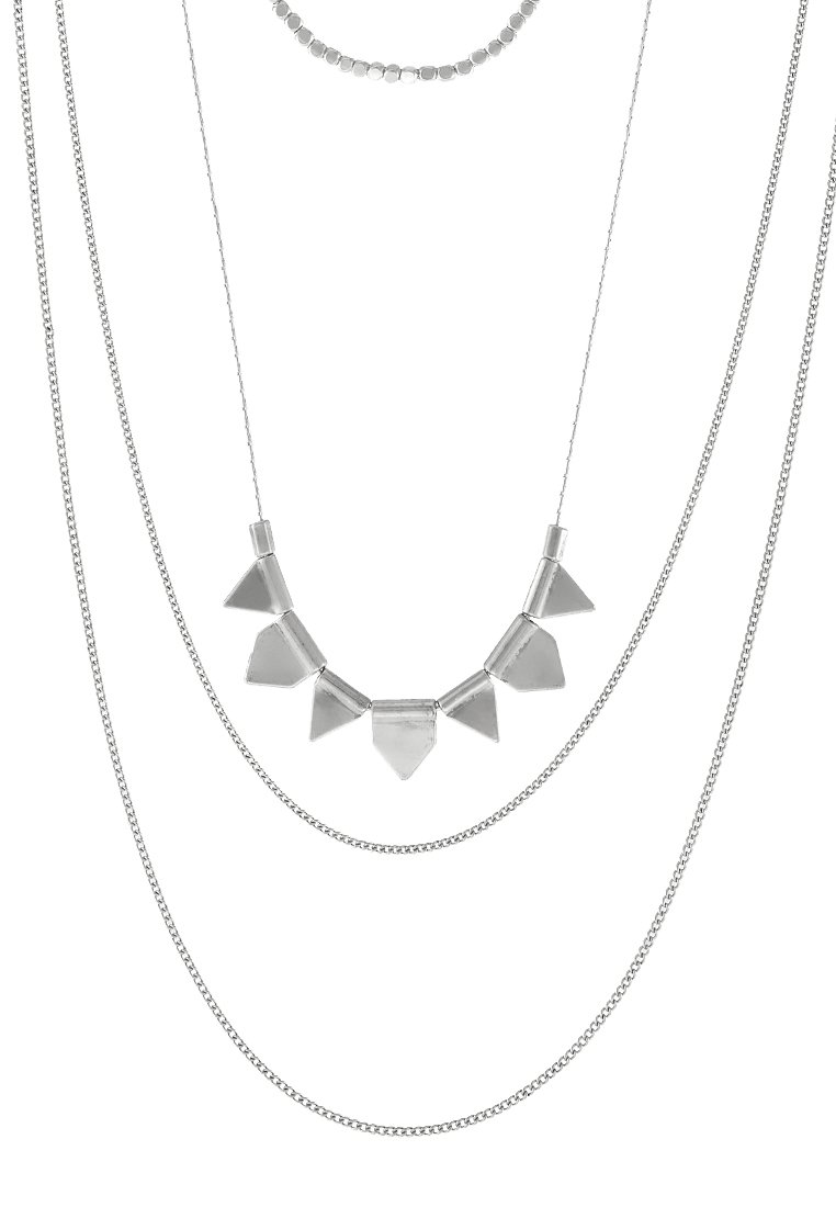 Collares Pieces PCPLINA Collar silvercoloured