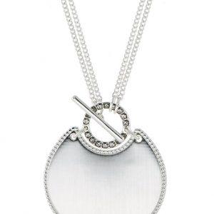 Collares Pilgrim Collar silvercoloured/grey