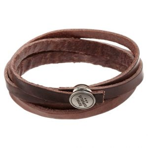 Pulsera Royal RepubliQ SPIRAL Pulsera brown