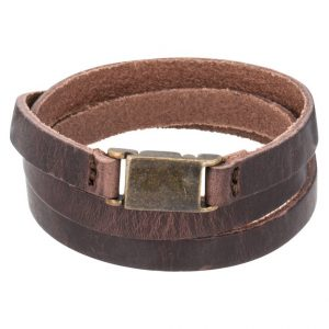 Pulsera Royal RepubliQ Pulsera dark brown