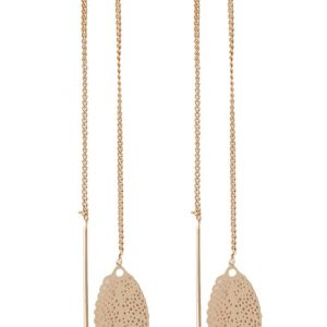 Pendientes Selected Femme SFDEZZLE goldcoloured