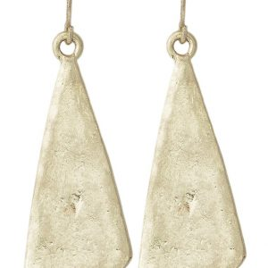 Pendientes Selected Femme SFCAIA  goldcoloured