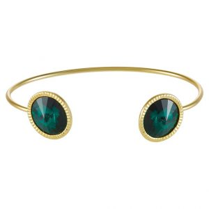 Pulsera Ted Baker REVENNA  Pulsera goldcoloured/emerald