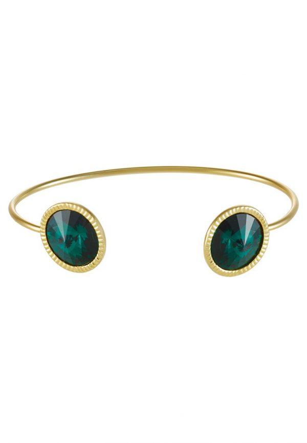Pulsera Ted Baker REVENNA  Pulsera goldcoloured/emerald