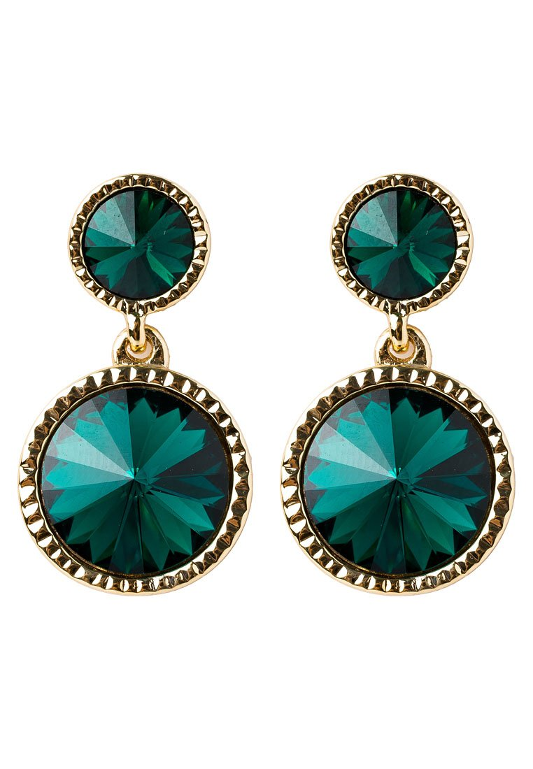 Pendientes Ted Baker RONDA goldcoloured/emerald
