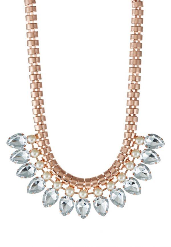 Collares Ted Baker EMARI  Collar rose goldcoloured/crystal/pearl