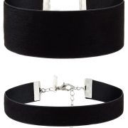 Collares Topshop 2 PACK Collar black