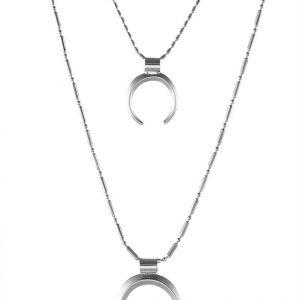 Collares Topshop Collar silvercoloured