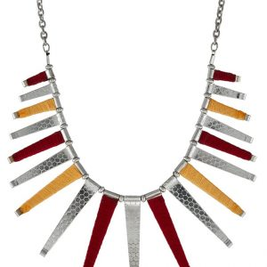 Collares Topshop Collar orange/multi