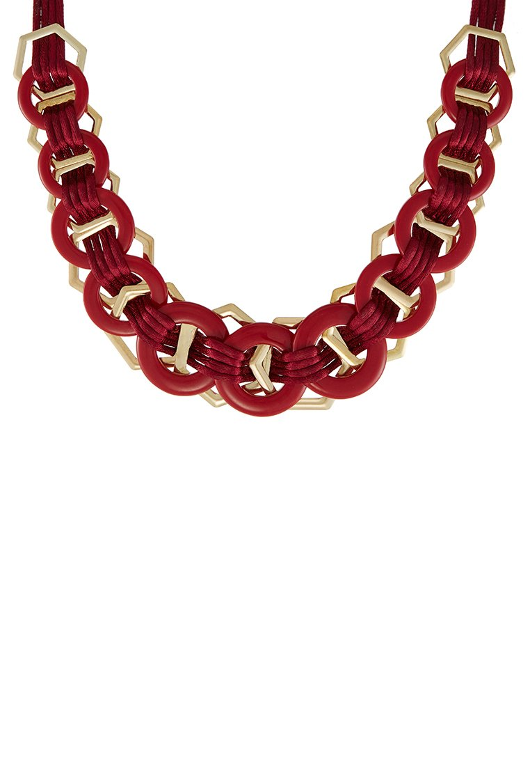 Collares Topshop Collar red