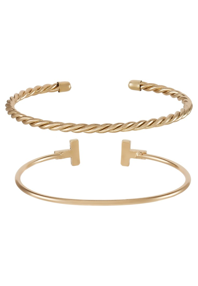 Pulsera Topshop 2 PACK Pulsera goldcoloured