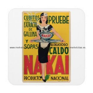 anuncio antiguo vintage sopas y caldos posavasos de bebida retrocharms
