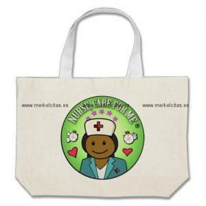 awesome gift ideas nursing nurse care for me bolsa tela grande retrocharms