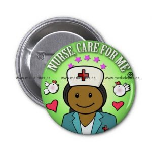 awesome gift ideas nursing nurse care for me chapa redonda 5 cm retrocharms