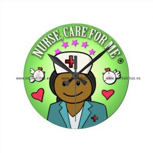 awesome gift ideas nursing nurse care for me reloj redondo mediano retrocharms