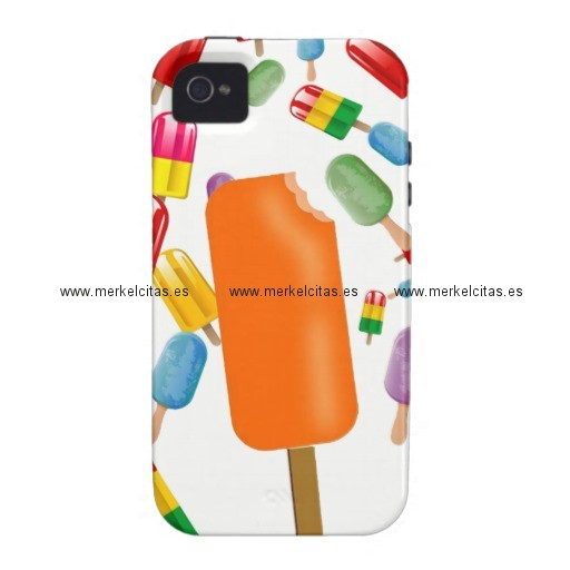 big popsicle chaos by ana lopez case mate iphone 4 funda retrocharms