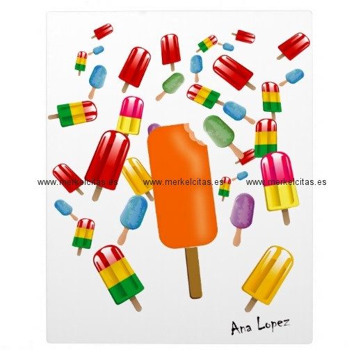 big popsicle chaos by ana lopez placas de madera retrocharms