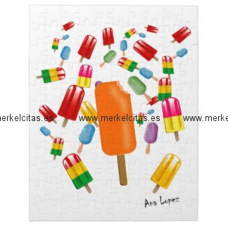 big popsicle chaos by ana lopez puzzle con fotos retrocharms