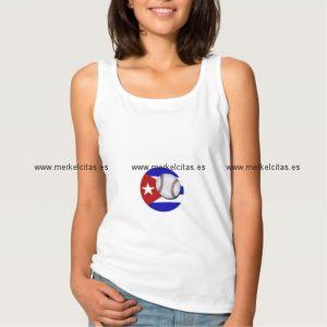 camiseta pelota cubana para mujer retrocharms
