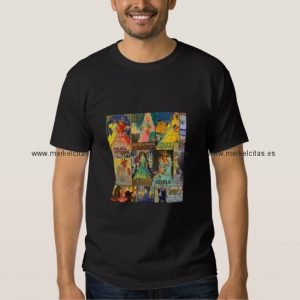 collage carteles antiguos ferias andalucia vintage camisetas retrocharms
