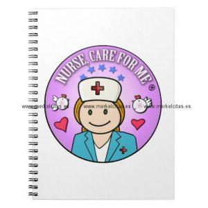 gift for nurses nurse care libretas retrocharms