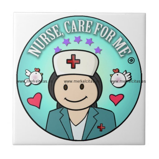 gift ideas for nurses nurse care for me azulejo cuadrado pequeño retrocharms