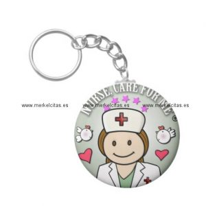 gifts for nurses grey llavero redondo tipo chapa retrocharms