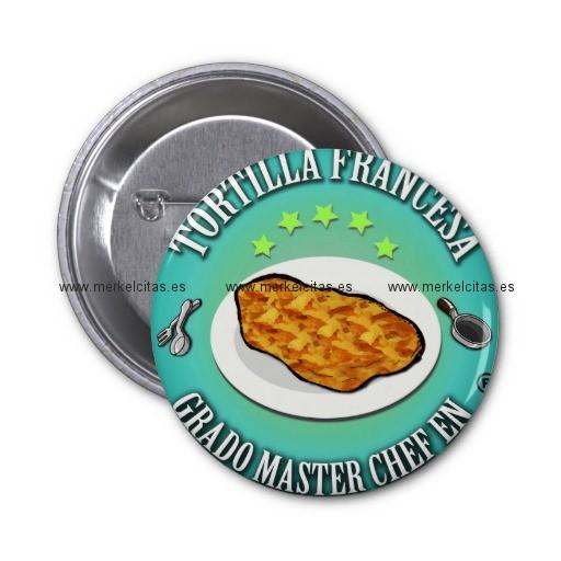 grado master chef en tortilla a la francesa chapa redonda 5 cm retrocharms