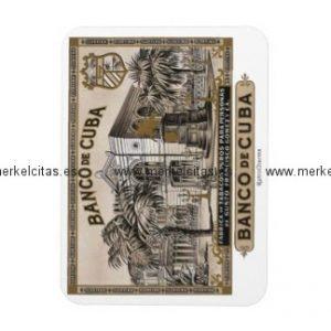 iman de nevera banco de cuba vintage cubano iman rectangular retrocharms