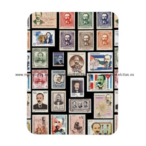 iman de nevera sellos cuba vintage vintage iman rectangular retrocharms
