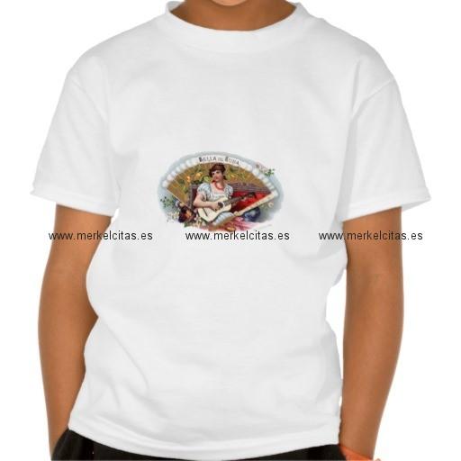 la bella de cuba vintage cubano camisetas retrocharms