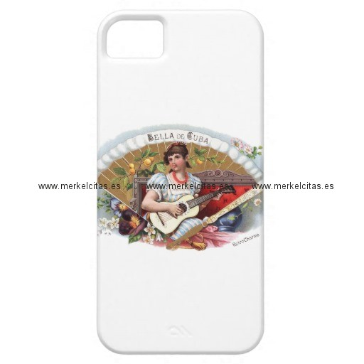 la bella de cuba vintage cubano iphone 5 case mate carcasas retrocharms