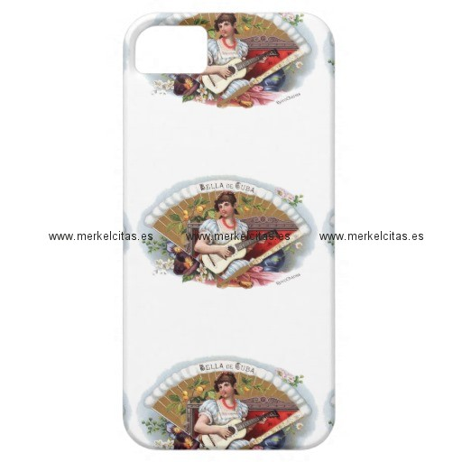 la bella de cuba vintage cubano iphone 5 fundas retrocharms