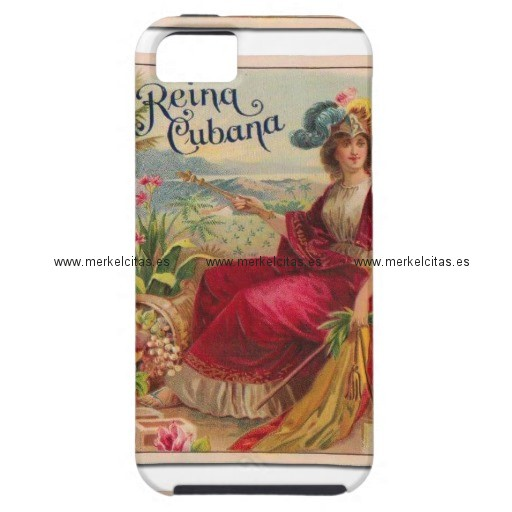 la reina de cuba cigarros habanos vintage iphone 5 protector retrocharms